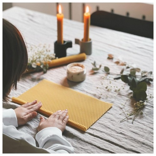 DIY Beeswax Candle Kit (Φυσικό προϊόν)